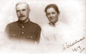 Wallace Evans and Amy Lealer Stöcker, 1917
